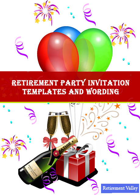 Retirement Party Invitations Templates Lovely Elegant Retirement Party Invitation Wording and Samples