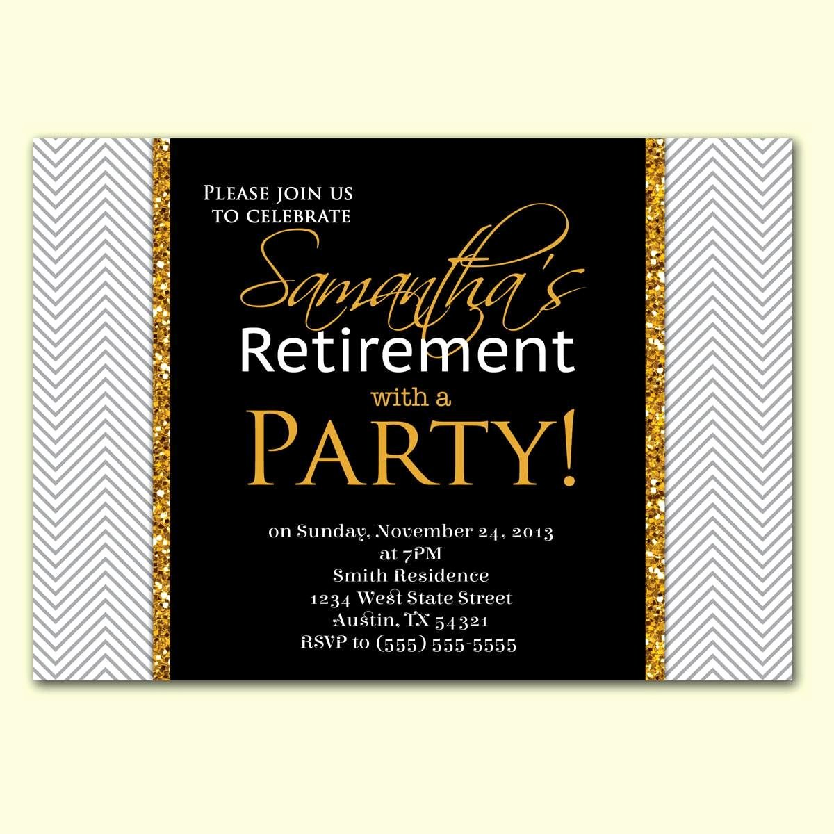 Retirement Party Invitations Templates New Retirement Party Invitation Wording In Hindi