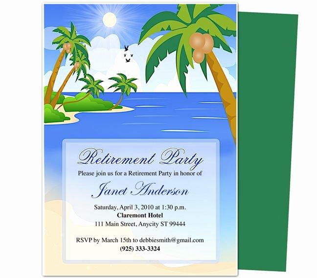 Retirement Party Invitations Templates Unique Free Printable Retirement Party Invitation Templates