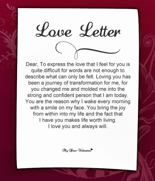 Romantic Letters for Her Beautiful Cute Love Letters for Her 2