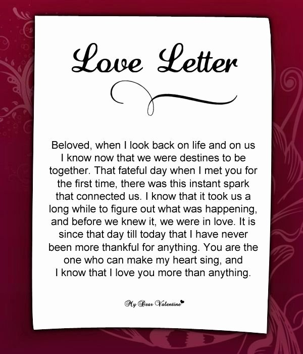 Romantic Letters for Her Elegant 10 Best Images About Love Letters for Her On Pinterest