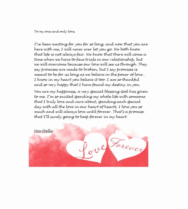 Romantic Letters for Her Fresh 45 ♥ Romantic Love Letters for Her & for Him