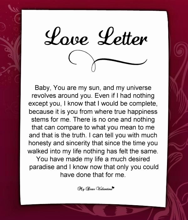 Romantic Letters for Her Fresh Love Letter for Her 55 Love Letters for Her