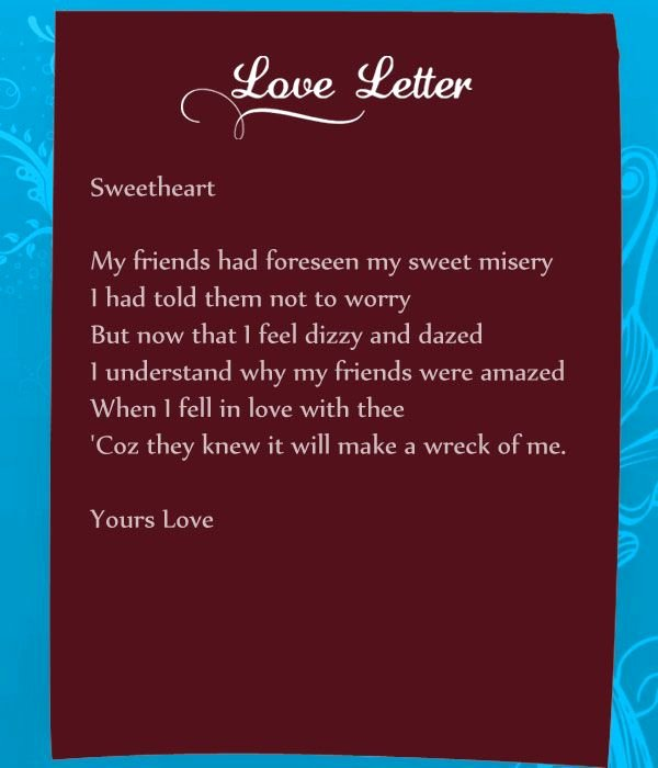 Romantic Letters for Her Unique Funny Love Letters for Her Can Be A Real Mood Setter for A