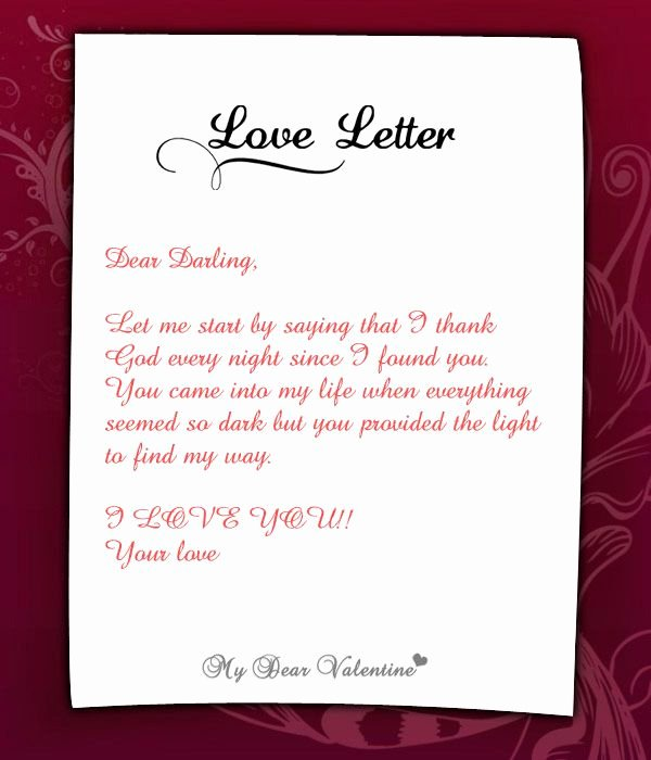 Romantic Love Letters for Her Awesome Wonderful Letter for Her Love Letters for Her