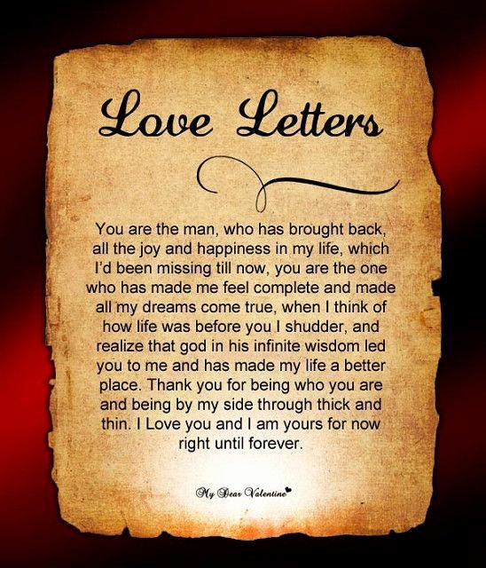 Romantic Love Letters for Him Best Of Love Letters for Him Sweets