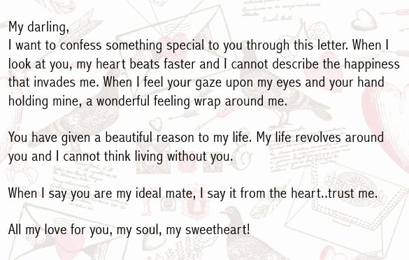 Romantic Love Letters for Him Unique Romantic Love Letter for Boyfriend Romantic Love Letter