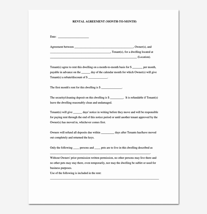 Room Rental Agreement Pdf Inspirational Room Rental Agreement 7 Sample Docs for Word & Pdf