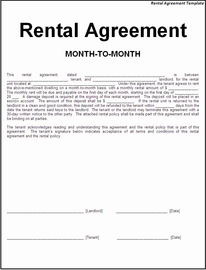 Room Rental Agreement Pdf Lovely Printable Sample Simple Room Rental Agreement form