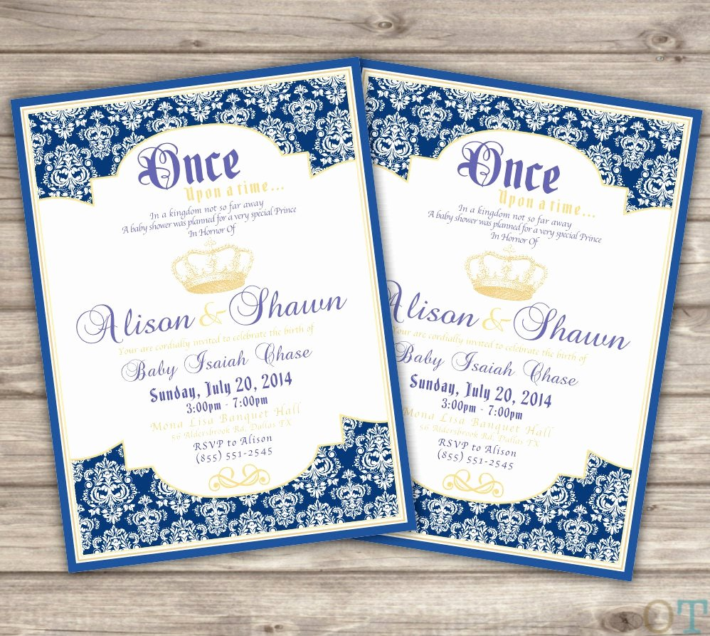 Royal Baby Shower Invitations Beautiful Unavailable Listing On Etsy