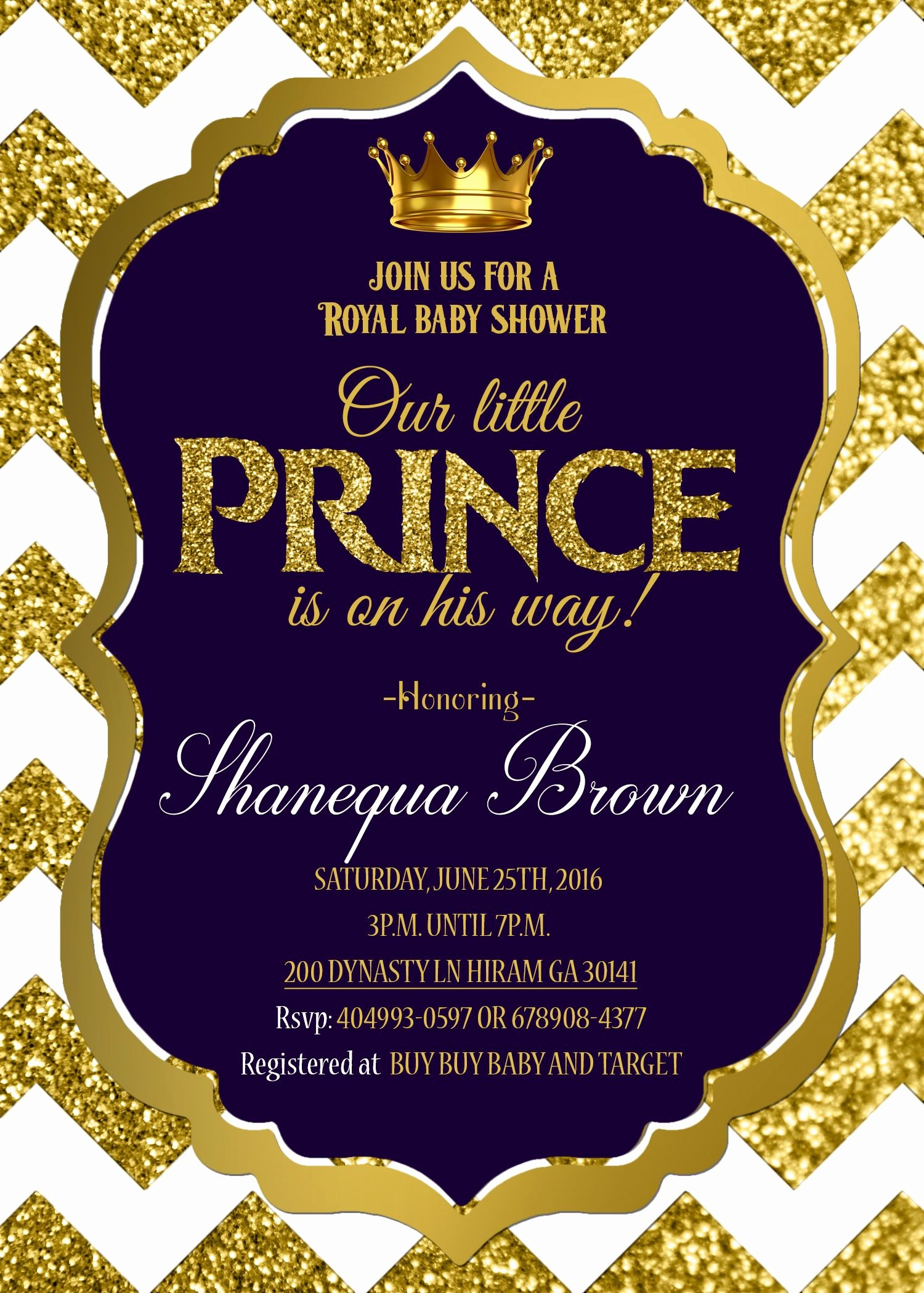 Royal Baby Shower Invitations Unique Royal Prince Baby Shower Invitation Printable Royal Baby