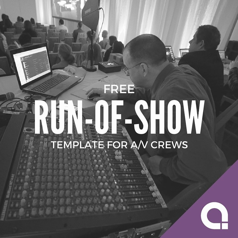 Run Of Show Template Best Of Run Show Template Templates Station