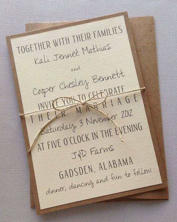 Rustic Wedding Invitation Templates Beautiful the 25 Best Wedding Invitation Wording Ideas On Pinterest
