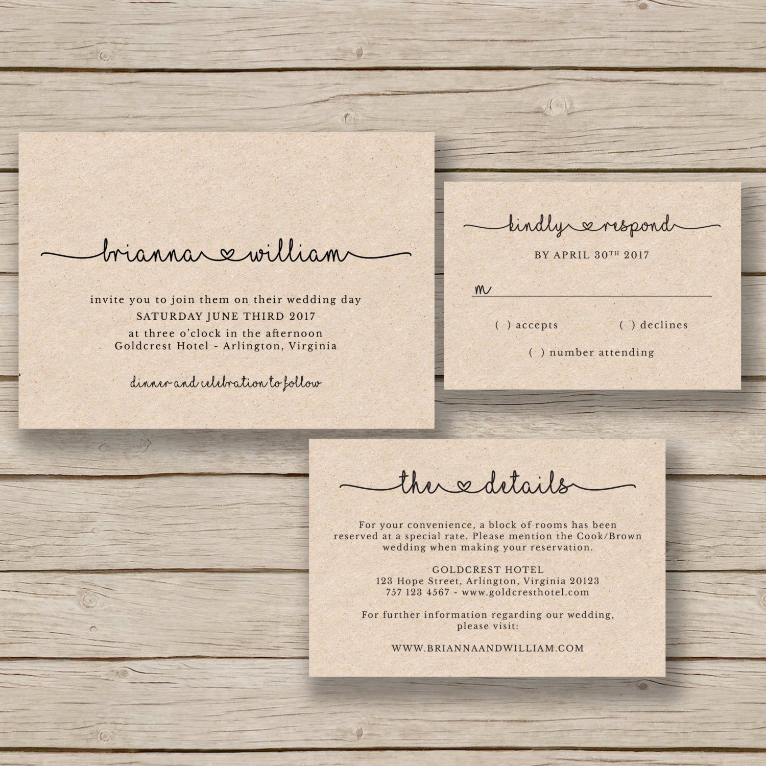 Rustic Wedding Invitation Templates Lovely Wedding Invitation Template Rustic Wedding Printable