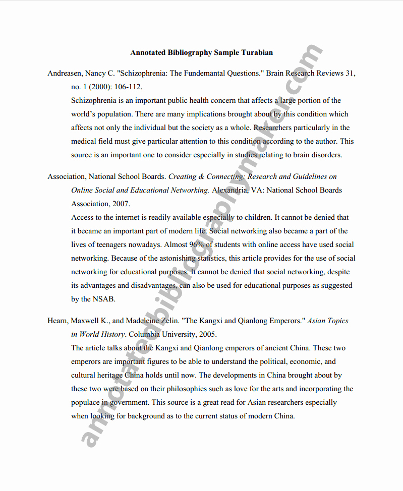 Sample Apa Annotated Bibliography Lovely Get An Annotated Bibliography Apa format Here