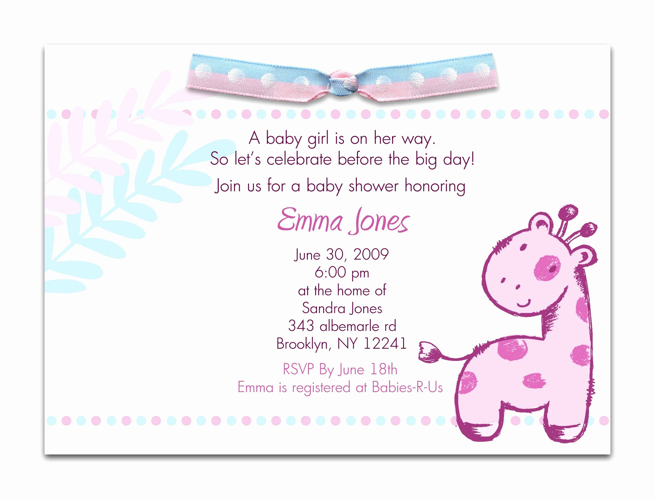 Sample Baby Shower Invitations Fresh Birthday Invitation Mickey Mouse Birthday Invitations