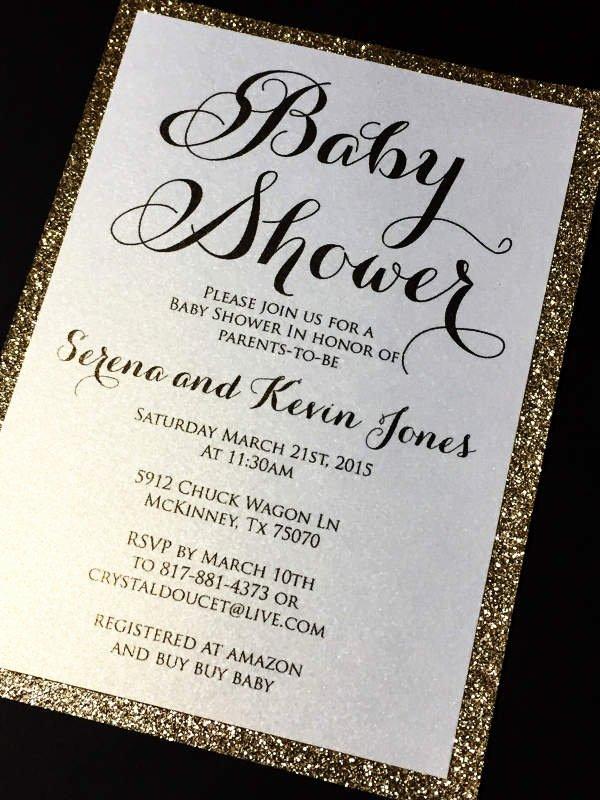 Sample Baby Shower Invitations Luxury 63 Unique Baby Shower Invitations Word Psd Ai