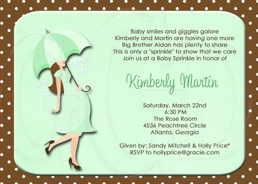 Sample Baby Shower Invitations Luxury Baby Shower Invitation Wording Second Boy Wedding