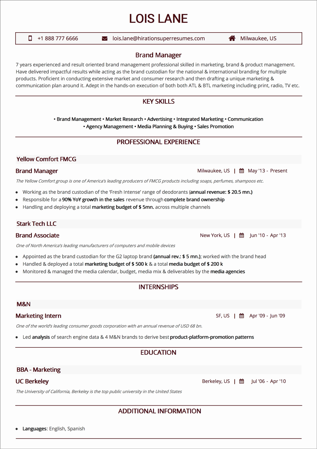 Sample Business Analyst Resume Best Of Business Analyst Resume Examples & 2019 Guide [ Best