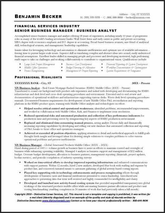 Sample Business Analyst Resume Fresh Resume Sample Business Analyst