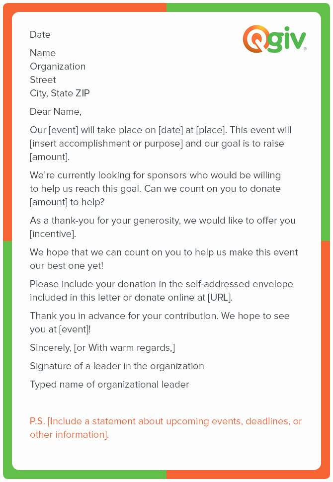 Sample Donation Request Letter Awesome 9 Awesome and Effective Fundraising Letter Templates