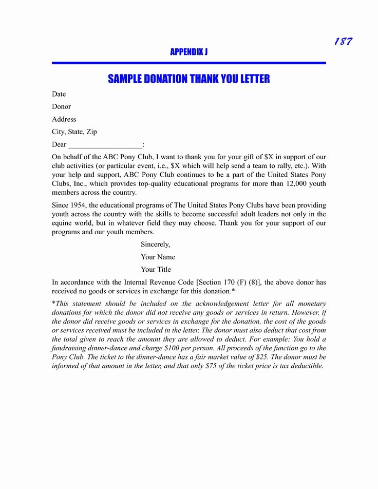 Sample Donation Request Letter Best Of Sample Donation Thank You Request Letter Sample Picture