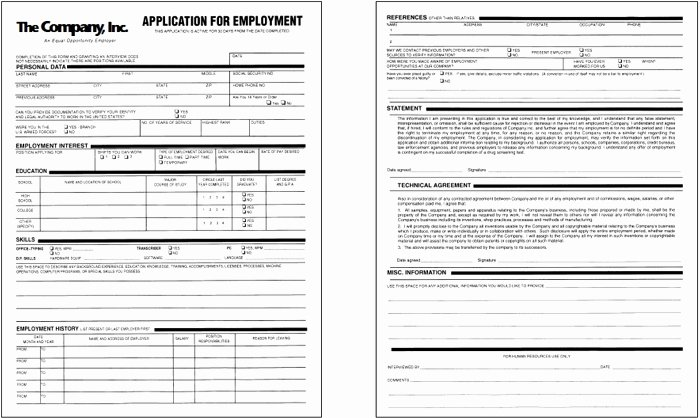 Sample Job Application form New How to Prepare for It Puter Support Job Applications
