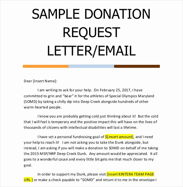 Sample Letters asking for Donations Beautiful 29 Donation Letter Templates Pdf Doc