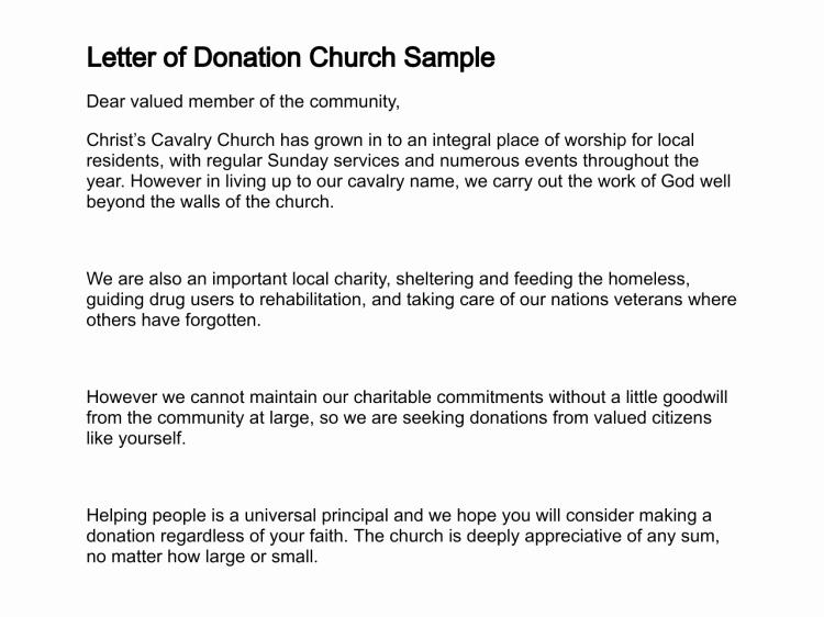 Sample Letters asking for Donations Elegant Sample Letter asking for Donation