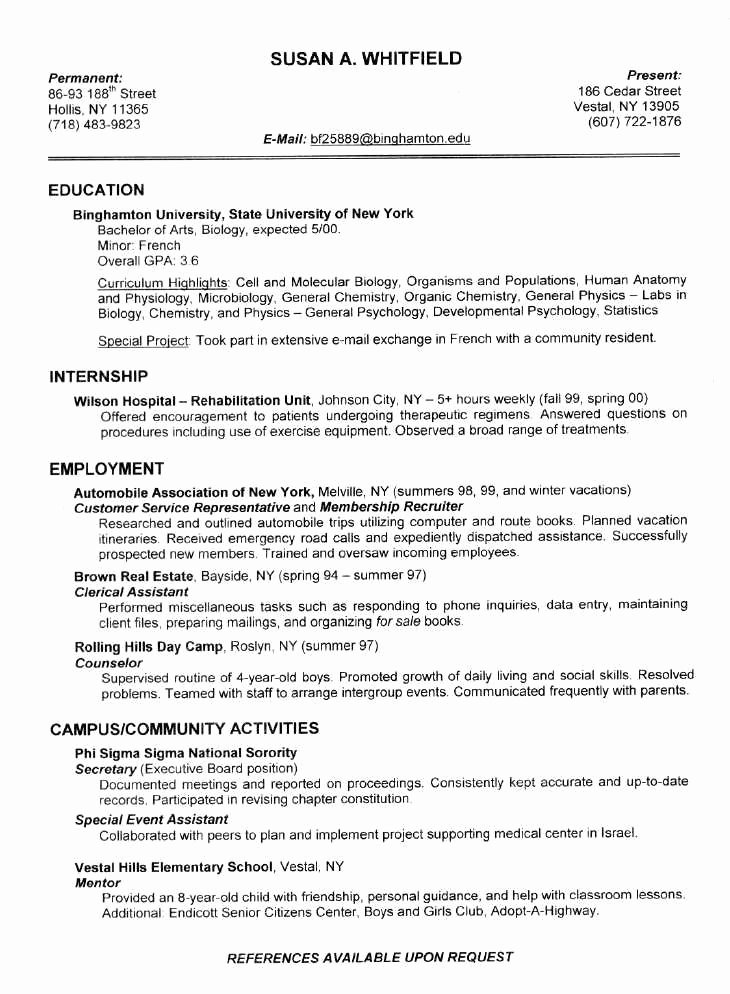 Sample Resume College Student Awesome Pin by Resumejob On Resume Job