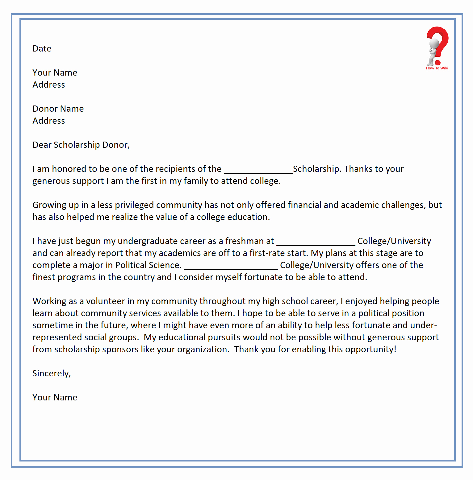 Sample Scholarship Thank You Letter Inspirational How to Write Thank You Letter for Scholarship