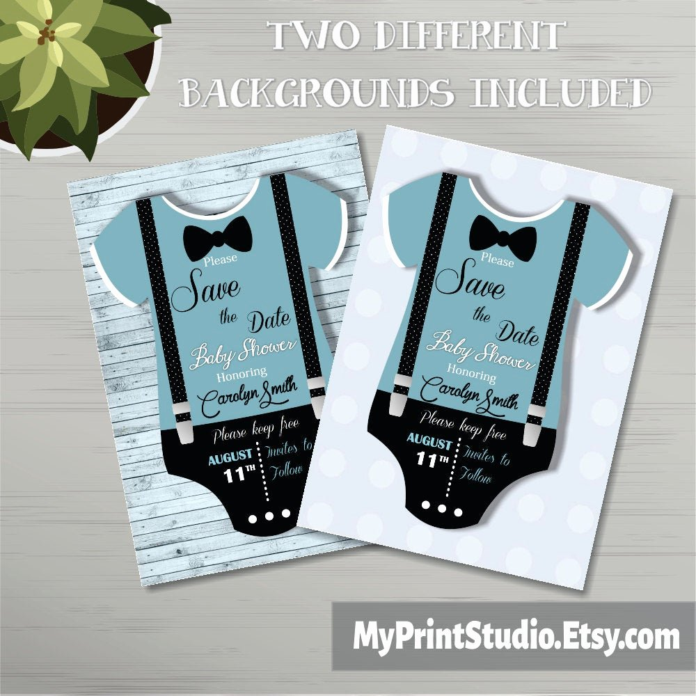 Save the Date Baby Shower Best Of Save the Date Baby Boy Shower Card Template Creative Boy