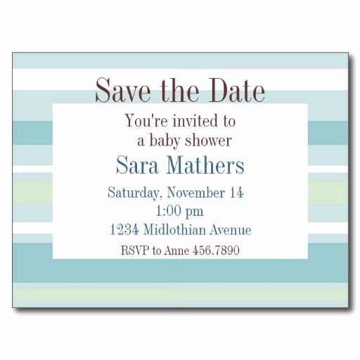 Save the Date Baby Shower Inspirational 17 Best Images About Baby Shower Save the Date Cards On