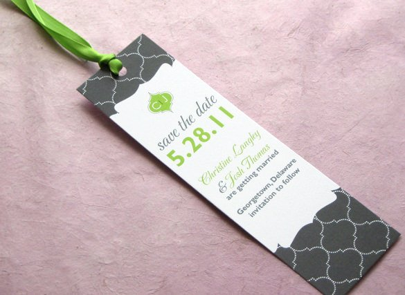 Save the Date Bookmarks Best Of 21 Save the Date Bookmark Templates – Free Sample