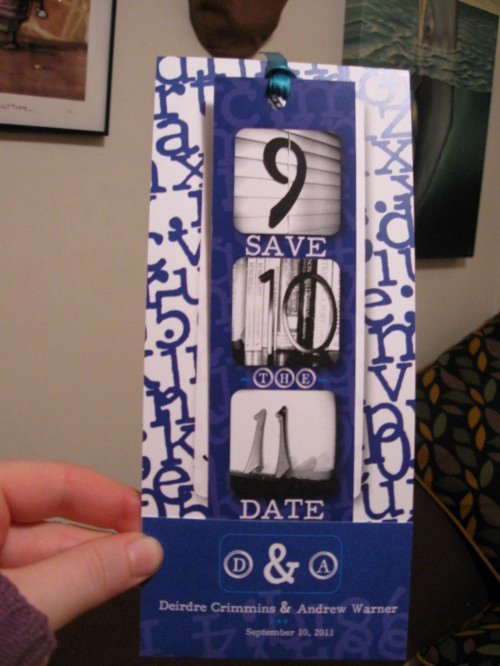 Save the Date Bookmarks Luxury Save the Date Bookmarks Do More Than Just Help You Save