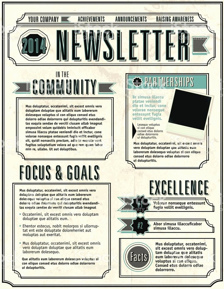 School Newsletter Templates Free Fresh Best 25 Newsletter Template Free Ideas On Pinterest