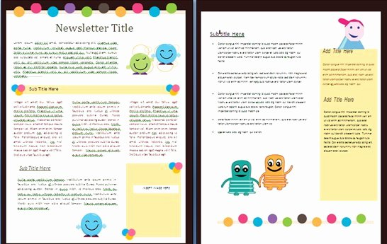 School Newsletter Templates Free Unique 15 Free Microsoft Word Newsletter Templates for Teachers
