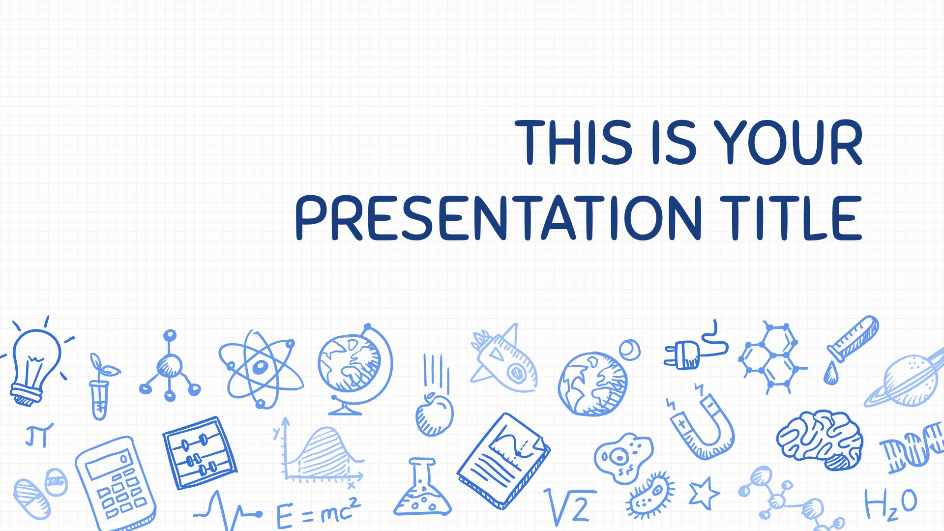 Science Power Point Template Elegant Free Playful Powerpoint Template or Google Slides theme