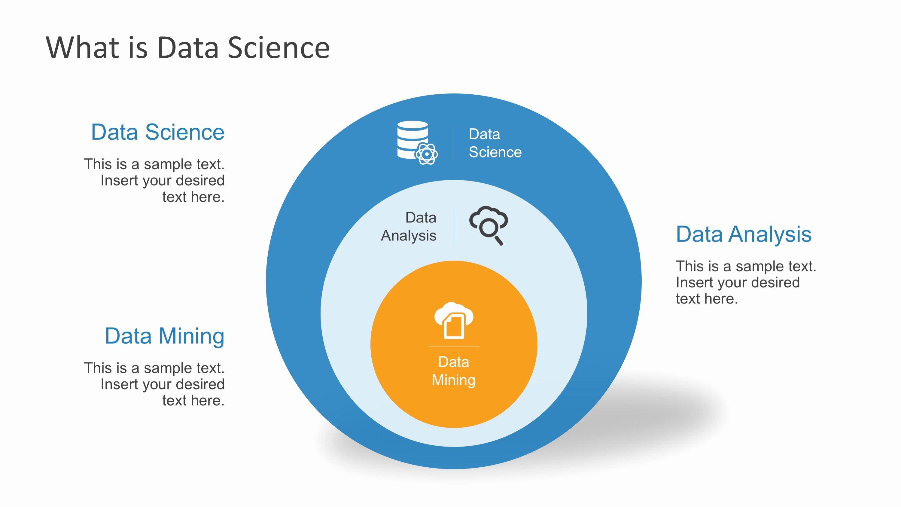 Science Power Point Template Unique Data Science Shapes Powerpoint Template Slidemodel