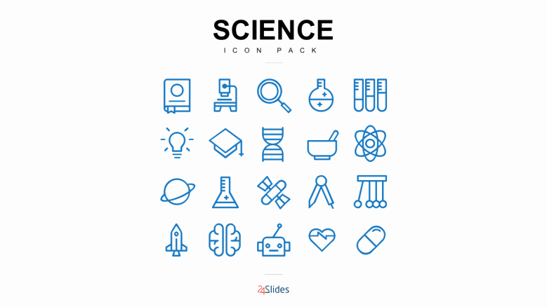 Science Power Point Template Unique Science Icon Template Pack