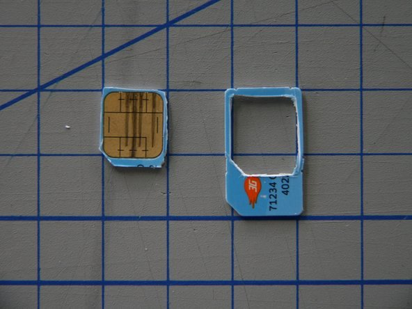 Sim Card Cutting Template Best Of Create A Micro Sim to Sim Adapter ifixit Repair Guide