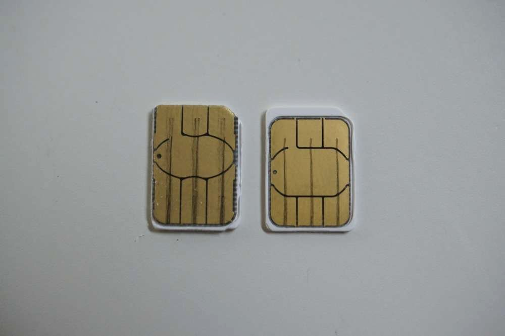 Sim Card Cutting Template Fresh How to Cut A Micro Sim Into A Nano Sim for Your Moto X