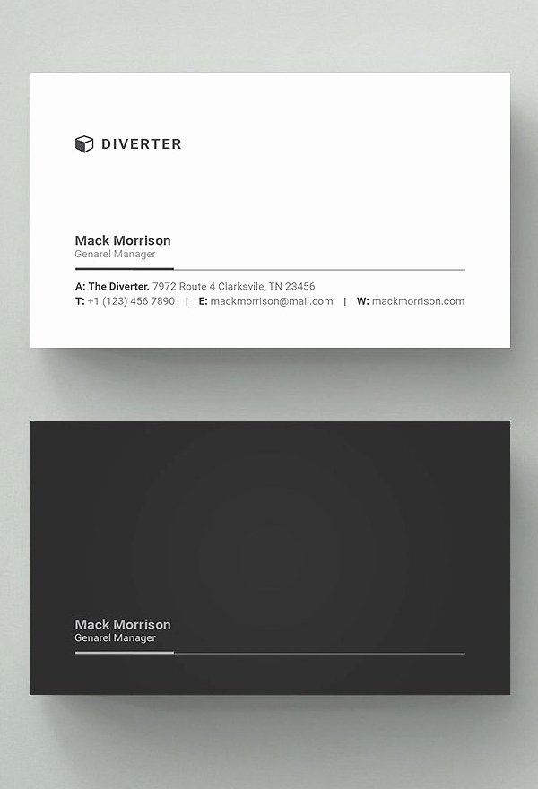 Simple Business Card Design Awesome 25 New Professional Business Card Templates Print Ready