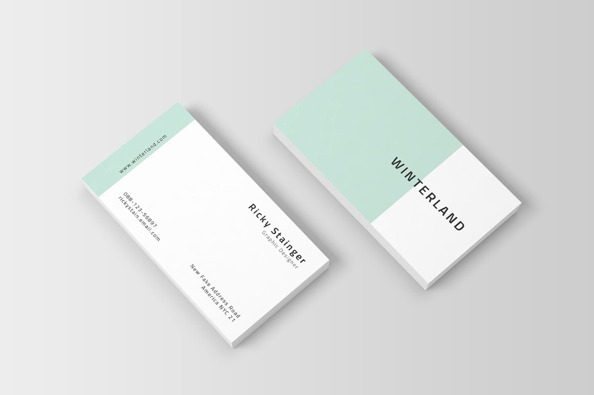 Simple Business Card Design Awesome Simple Business Card Template Inspiration Cardfaves