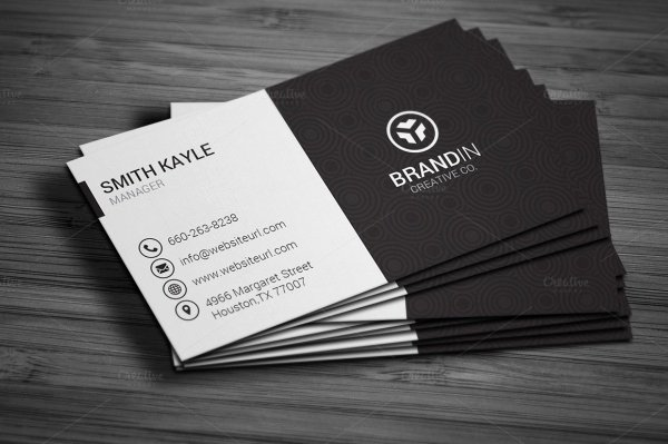 Simple Business Card Design Beautiful 28 Creative & Modern Business Card Templates Word Psd