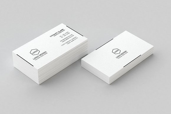 Simple Business Card Design Beautiful Simple Minimal Business Card Design Business Card