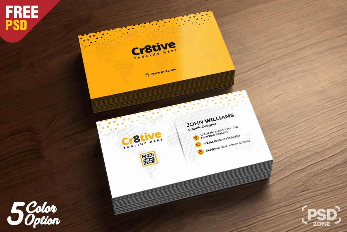 Simple Business Card Design Fresh Simple Business Card Design Template Psd Download Psd