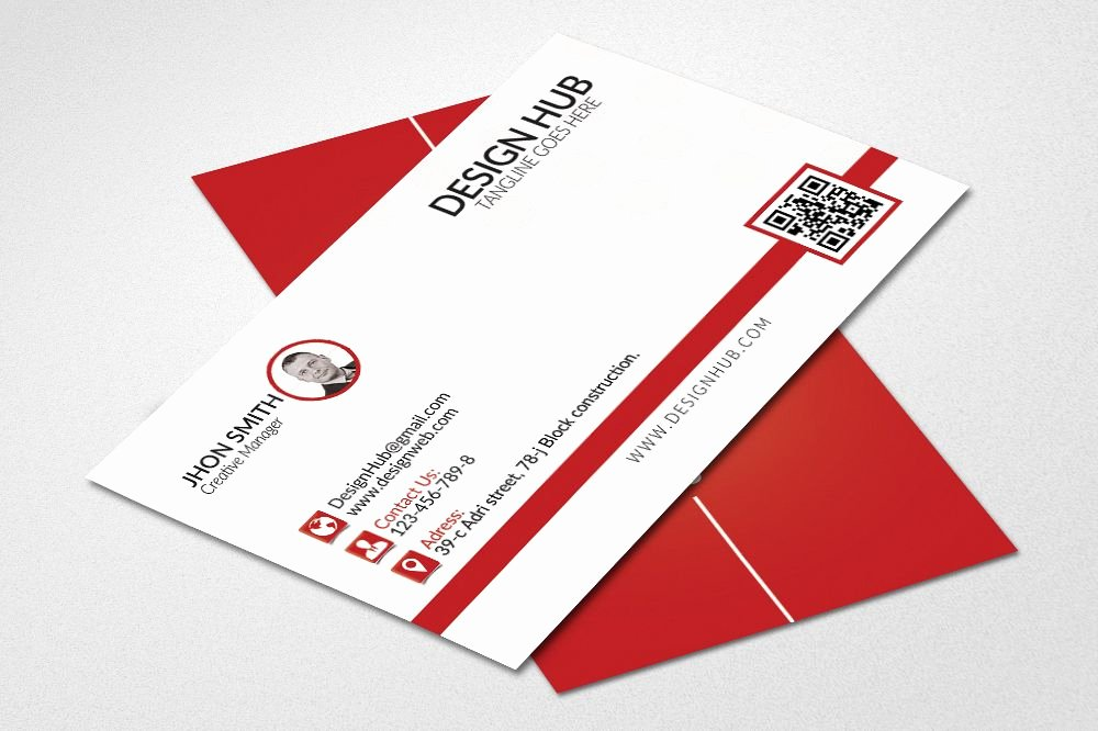 Simple Business Card Design Fresh Simple Business Cards Template