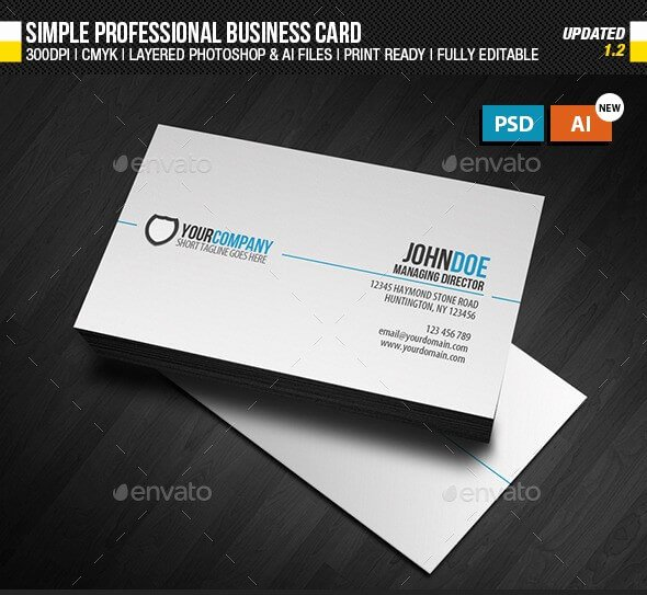 Simple Business Card Design Luxury 8 Best Creative Business Card Templates & Design Example 2019