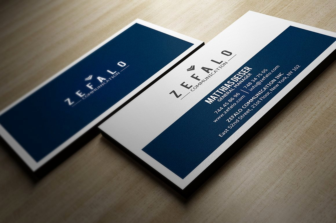 Simple Business Card Design Luxury Clear Simple Business Card Business Card Templates